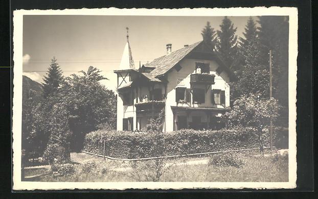 AK St. Wolfgang, Ansicht der Villa Trautheim