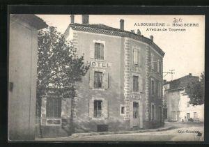 AK Alboussiere, Hotel Serre, Avenue de Tournon