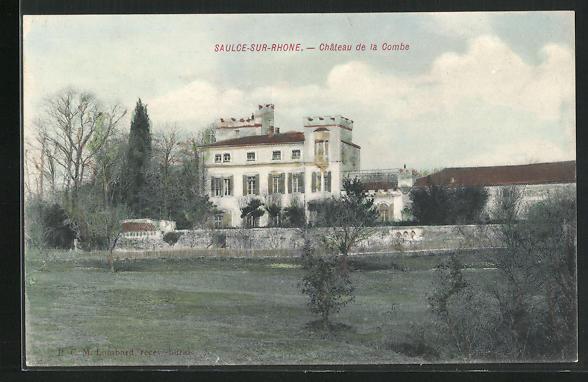 AK Saulce-sur-Rhone, Chateau de la Combe