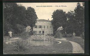 AK Saulce-sur-Rhone, Villa de l`Olivette