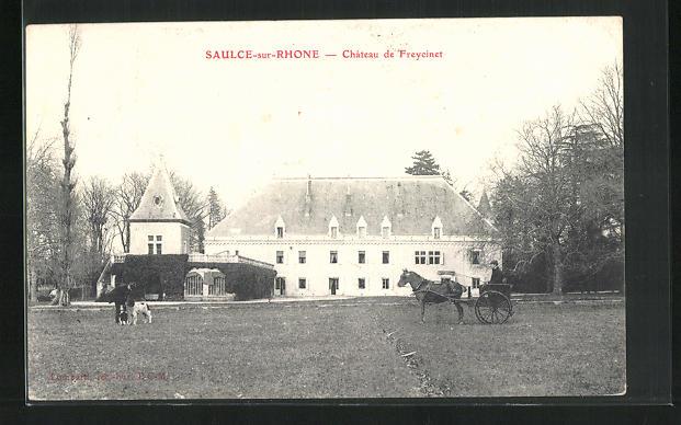 AK Saulce-sur-Rhone, Chateau de Freycinet