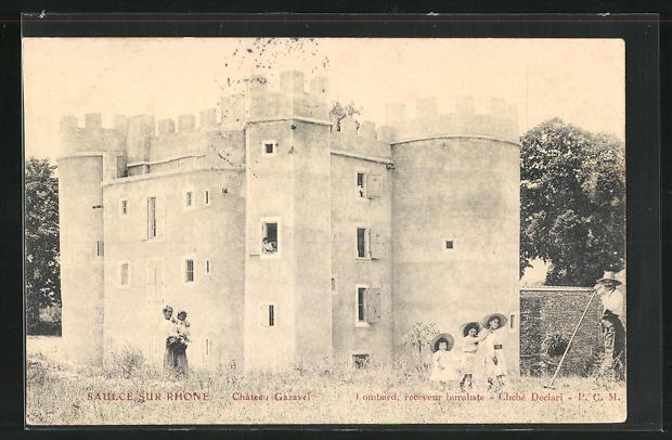AK Saulce-sur-Rhone, Chateau Gazavel