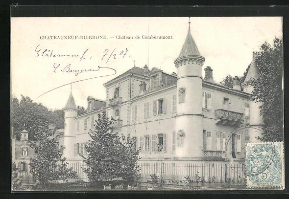 AK Chateauneuf-du-Rhone, Chateau de Combeaumont