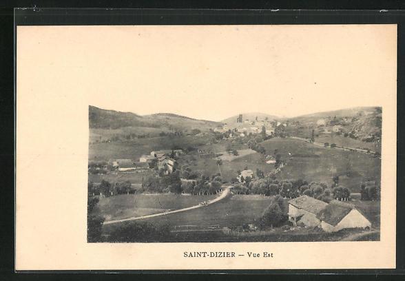 AK Saint-Dizier, Gesamtansicht von Osten gesehen