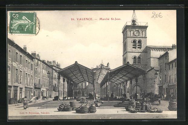 AK Valence, Marche St. Jean et Boutiques