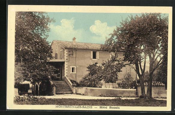 AK Montbrun-les-Bains, Hotel Bounin