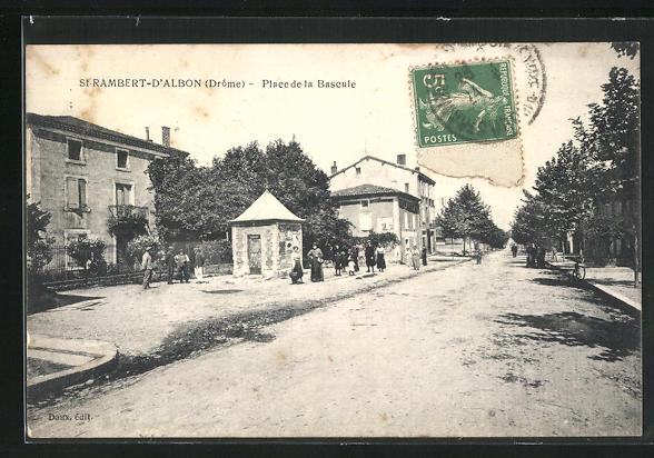 AK St-Rambert-d`Albon, Place la Bascule