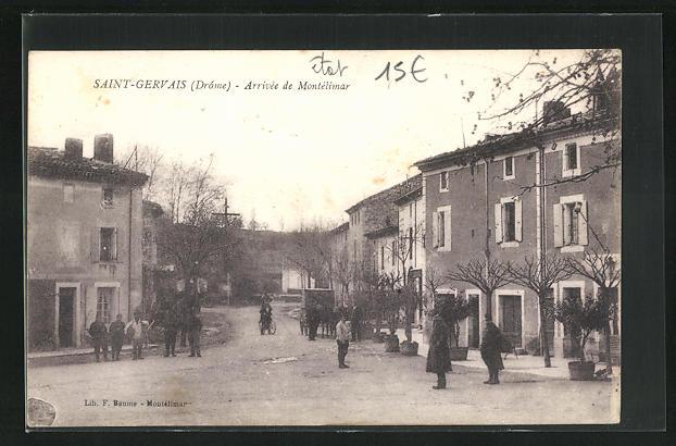 AK Saint-Gervais, Arrivee de Montelimar