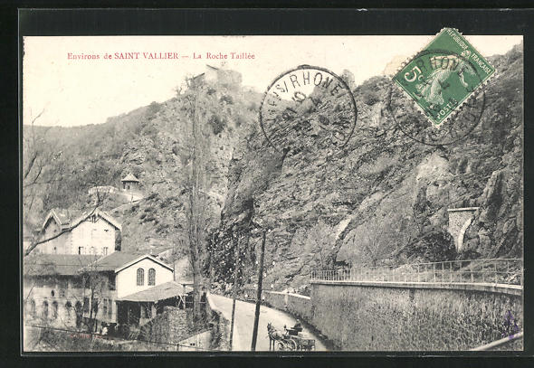 AK Saint-Vallier, La Roche Taillee
