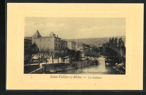 AK Saint-Vallier-sur-Rhone, La Galaure