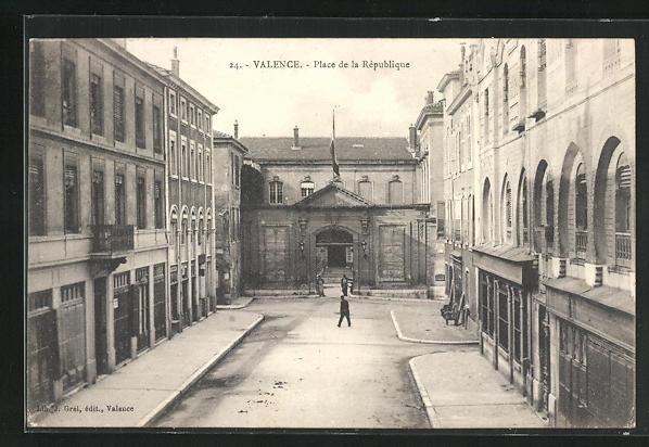 AK Valence, Place de la Republique