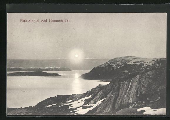 AK Hammerfest, Midnatssol im Gebirge