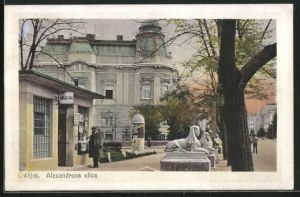 AK Osijek, Alexandrova ulica