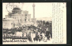 AK Constantinople / Istanbul, le Sélamlik, Yildiz, Moschee