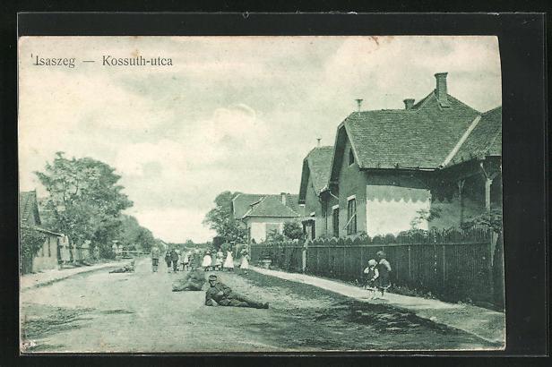 AK Isaszeg, Kossuth-utca
