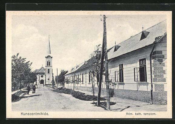 AK Kunszentmiklos, Rom. kath. templom