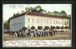AK Pozega, Kr. velika gimnazija