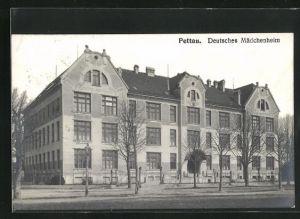 AK Pettau, Deutsches Mädchenheim