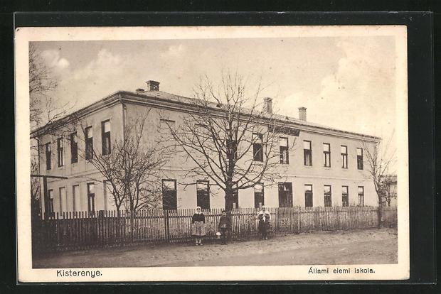 AK Kisterenye, Állami elemi iskola, Schule