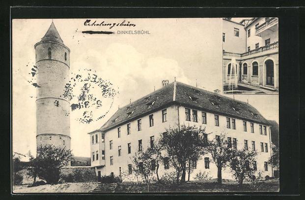 AK Dinkelsbühl, Erholungsheim der Schulschwestern