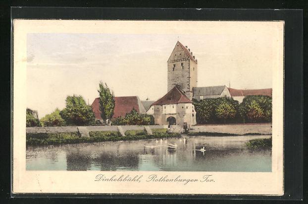 AK Dinkelsbühl, Rothenburger Tor