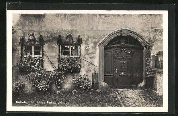 AK Dinkelsbühl, Altes Patrizierhaus