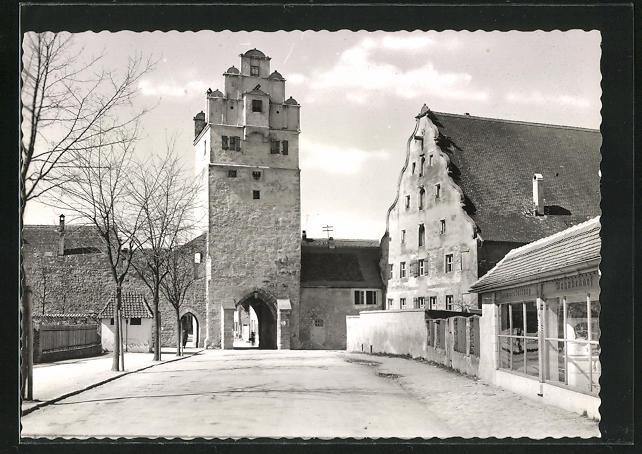 AK Dinkelsbühl, Nördlinger Tor