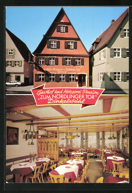AK Dinkelsbühl, Zum Nördlinger Tor