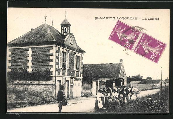 AK St-Martin-Longeau, La Mairie