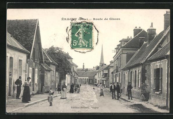 AK Eragny, Route de Gisors