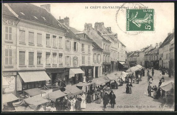 AK Crepy-en-Valois, Le Marche