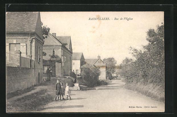 AK Rainvillers, Rue de l'Eglise