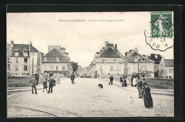 AK Pont-Sainte-Maxence, Le Pont et Faubourg du Nord