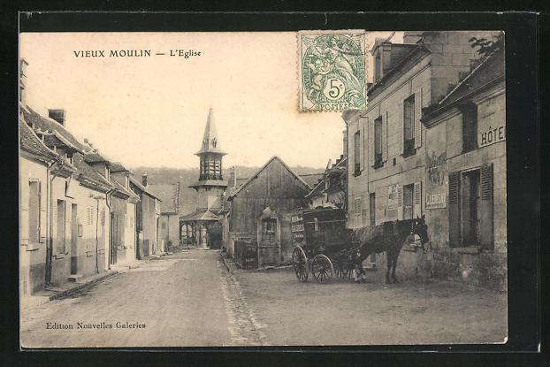 AK Vieux-Moulin, L'Eglise