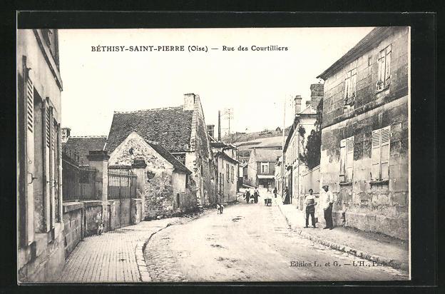 AK Bethisy-Saint-Pierre, Rue des Courtilliers