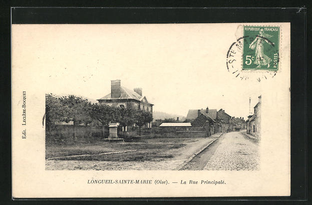 AK Longueil-Sainte-Marie, La Rue Principale