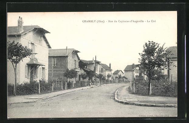 AK Chambly, Rue du Capitaine-d'Angeville, La Cite