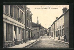AK Le Mesnil-sur-Oger, Rue Persault-Maheu
