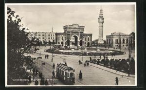 AK Constantinople, Vue Generale de Bayazid