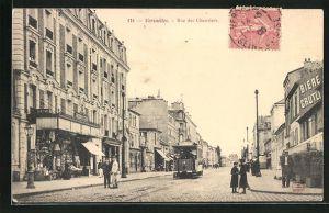 AK Versailles, Rue des Chantiers