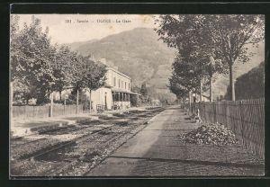 AK Annonay, La Gare, Partie am Bahnhof