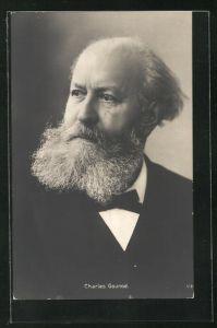 AK Portrait des Komponisten Charles Gounod