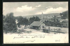 AK La Tour-du-Pin, vue prise du Coteau de Badieu