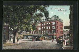 AK Westerly, RI, Dixon House Square