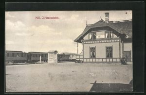 AK Hell, Jernbanestation, Bahnhof