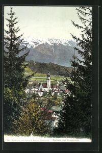 AK Natters, Panoramablick vom Berg