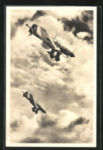 AK Sturzkampfflugzeug Junkers-Ju 87