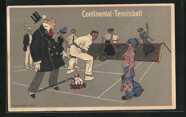 AK Continental-Tennisball, Reklame