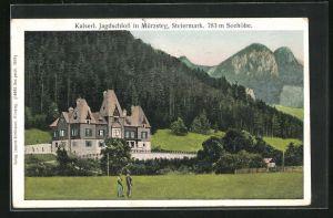 AK Mürzsteg, Kaiserl. Jagdschloss