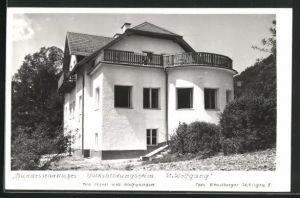 AK Strobl am Wolfgangsee, Bundesstaatliches Volksbildungsheim St. Wolfgang